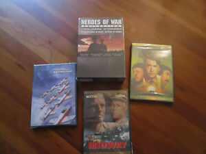 History Buff's Dream - DVDs unopened