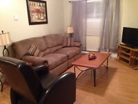 TWO BEDROOM top level of house fully furnished Downtown
