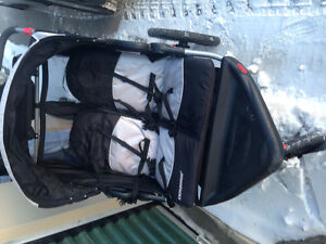 Double All Terrain stroller for sale