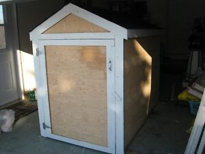 NEW snowblower SHED
