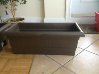 2 Flower Boxes 2x4 Ledge $20 OBO