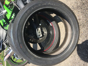 Pirelli supercorsa tires used