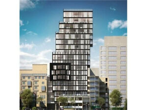 New 1 + 1 Den in Downtown Toronto