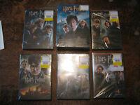 HARRY POTTER DVDS BRAND NEW