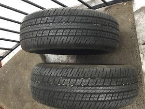 2 pneus 4 saisons neufs / 4 seasons tires new