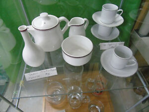 Dudson Small Tea Pot, Creamer/Sugar and Vase Peterborough Peterborough Area image 1