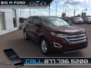 2015 Ford Edge SEL  - Bluetooth -  Heated Seats - $199.25 B/W