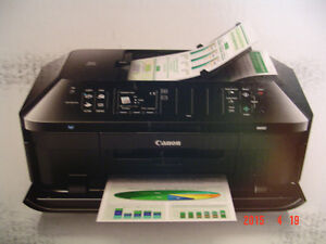 CANON MX870 MULTIFUNCTION PRINTER FOR PARTS OR NEEDED REPAIRS