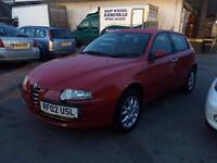 2002 Alfa Romeo 147 2.0 T.Spark Lusso 5dr