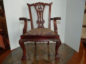 Antique Style Reproduction Doll Chair