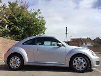 VW BEETLE 2.0 TDI DESIGN DSG AUTOMATIC ONLY 17000 MILEAGE