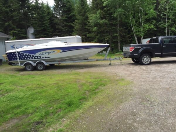 Used 2001 Baja Boats outlaw SST