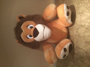 Lion , ( stuffed toy animal )