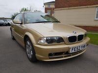 BMW 3 SERIES 318Ci Sport (gold) 2002