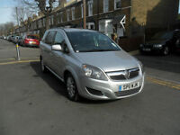 2011 Vauxhall Zafira 1.7 TD Exclusiv 5dr, 77,000 Miles, Recent Full Service