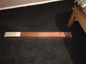Ikea wooden horizontal blind