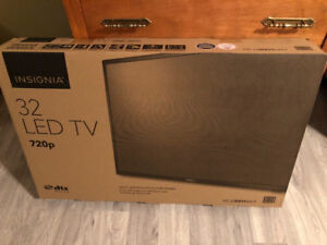 "Brand New 32"" Insignia LED TV"