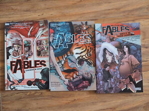 3 Fables Graphic Novels