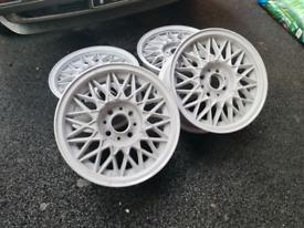 """Bmw E30 bbs 14"""" wheels 4x100"""