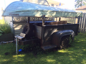 1956 Ford Step Side Truck Box Trailer