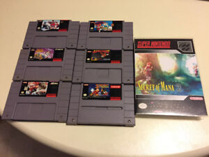 SNES Super Nintendo Games Bundle #2