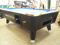 """Valley Dynamo Coin Operated Pool Tables 4'-1/2"""" x 9'"""