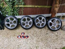 Abarth Wheels+Tyres