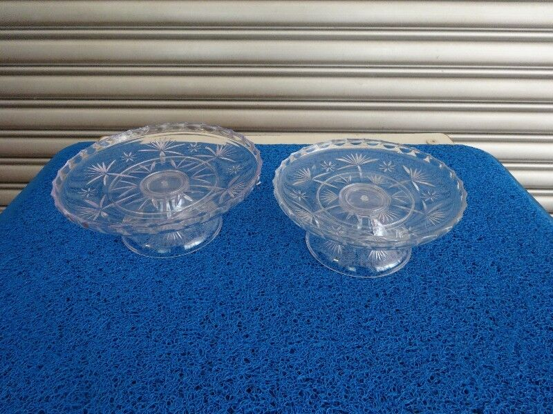 White Transparent Prayer Serving/Offering Tray with/without leg