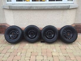 Bmw Snow Tyres and Rims/Wheels