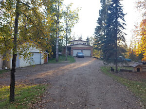 House on beautiful 3 acres, close to the city