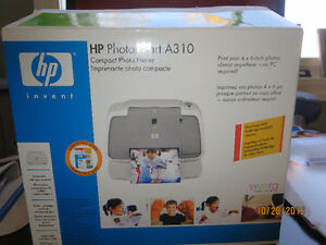 HP PHOTOSMART A310 COMPACT PHOTO PRINTER/NEVER USED