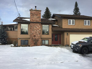 Beautiful split level home on acreage in Mackenzie