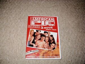 AMERICAN PIE/HAROLD AND KUMAR DVDS SET FOR SALE!