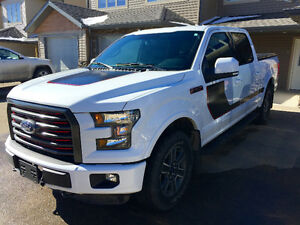 2016 Ford F-150 SuperCrew Lariat Sport Pickup Truck
