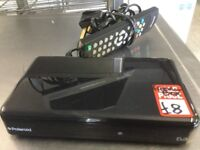Freeview box with remote