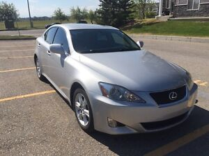 2008 Lexus IS250 EXTREMELY LOW KM