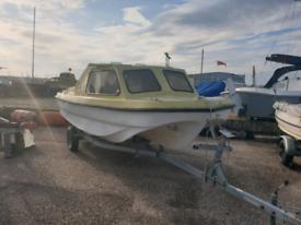 14/15ft Dory fishing boat