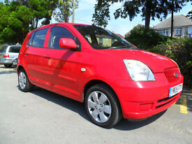 KIA PICANTO 1.1 LX 2005 ONLY 49,000 MILES COMPLETE WITH M.O.T HPI CLEAR INC