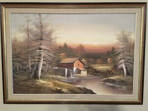 For Sale: Large Oil Painting