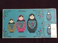 New and sealed M&S placemat and coaster set for 4