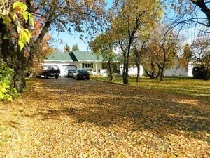 Rambling Bungalow on half acre lot in Shellbrook