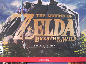 Zelda Breath of the Wild SPECIAL COLLECTOR EDITION! NEUF NEW