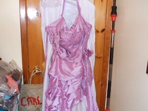 BEAUTIFUL MAUVE DRESS, prom , special occassion