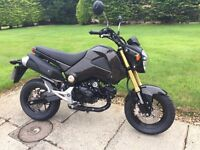 2015 Honda MSX125. Carbon Dipped Bodywork and Genuine Low Mileage