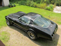 Silver aniversary 78 vette for sale