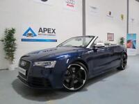 2013/13 Audi RS5 4.2 FSI Quattro Convertible S-Tronic + Adaptive Cruise +