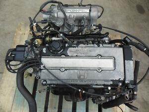 HONDA CIVIC 88-91 DOHC VTEC MOTEUR B16A MOTEUR OBD0 CIVIC CRX