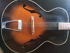 Authentic Kay Archtop Acoustic Guitar 350$