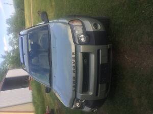 2004 Land Rover Freelander SUV, Crossover