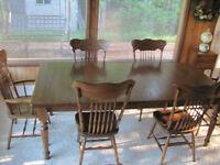 Mennonite Harvest Table